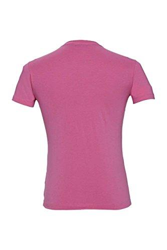 Costume National C'N'C Herren Shirt Motiv T-Shirt MYSTERIE Card 1 Pink