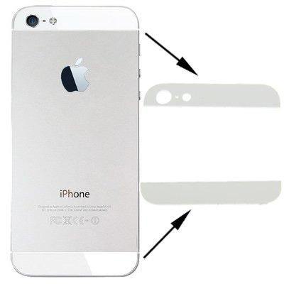 Apple iPhone 5 Back Cover Top Bottom oben unten Glas Abdeckung Cover Weiß Iphone 5 Weiß Oben Und Unten