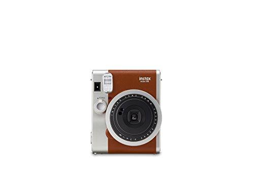 Galleria fotografica Fujifilm Instax Mini 90 Brown Fotocamera Istantanea per Stampe Formato 62 x 46 mm, Marrone/Argento