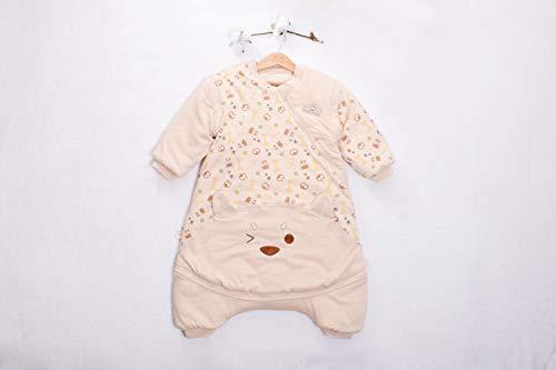LTD Baby Schlafsack Farbige Baumwolle Anti-Kick-Quilt Anti-Kick-Schlafsack Winter Schlafsack Baby Winterkleidung Rucksack / A6 / Als zeigen -