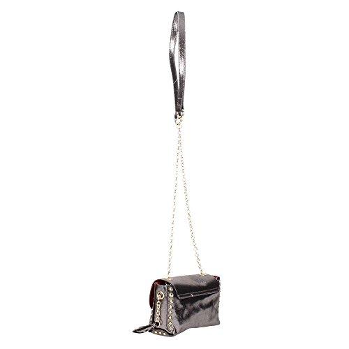 Borsa Tracolla Pandy Bag CREDICI Violet Dark Grey