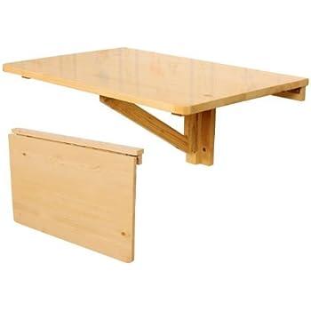 Ikea Norbo Table Pliante Murale En Bouleau Massif 79 X 59