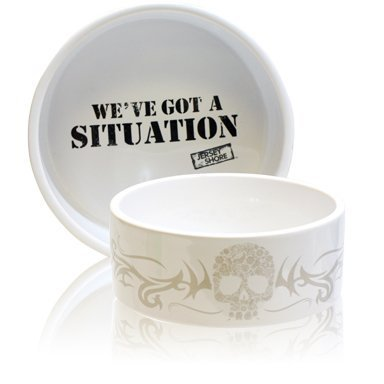 mtvs-jersey-shore-weve-got-a-situtation-dog-bowl-6-inch-white-by-argento-sc-by-sicura-designs