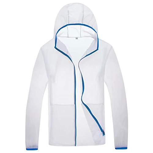 Tosonse Windbreaker Herren Herren Cooling Jacket Fan Sommer Outdoor Klimatisierte Kleidung Bluse Puffer Jacket