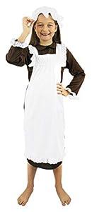 I Love Fancy Dress ILFD7025L - Disfraz de pobre Victoriano para niña (tamaño Grande)