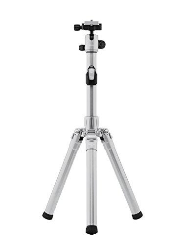MeFOTO Roadtrip Air Digitales/cámaras de película 3leg(s) Titanio tripode - Trípode (Digitales/cámaras de película, 6 kg, 3 Pata(s), 154,9 cm, Titanio, 29 cm)