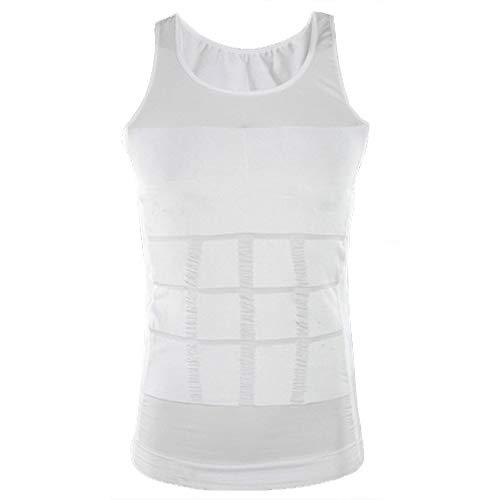 Camiseta Faja Abdominal Entallada Reductora Moldeadora Quemagrasas Adelgazante para Hombre Home Health Spain (XL)