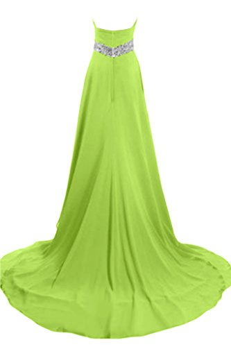 Sunvary elegante A-Line Abito in raso, per abiti da sera, da gravidanza Verdone