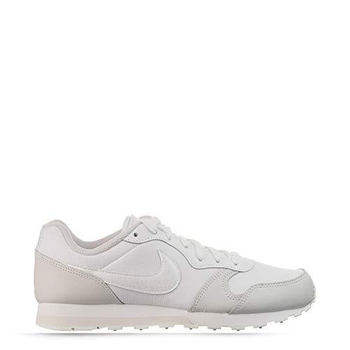 Nike MD Runner 2 GS, Zapatillas Atletismo Mujer, White/Vast