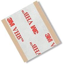 "TapeCase RP250.5""x 2"" -5VHB RP250.5""x 2"" rectángulos cintas adhesivas, 25mil (0,6mm) de grosor (Pack de 5)"