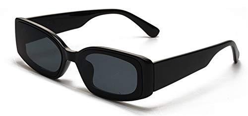 Brillen,Sonnenbrillen,Zubehör,Cat Eye Sunglasses Women Fashion Brand Designer Rectangle Sun Glasses Ladies Vintage Candy Color Eyewear Shades Black
