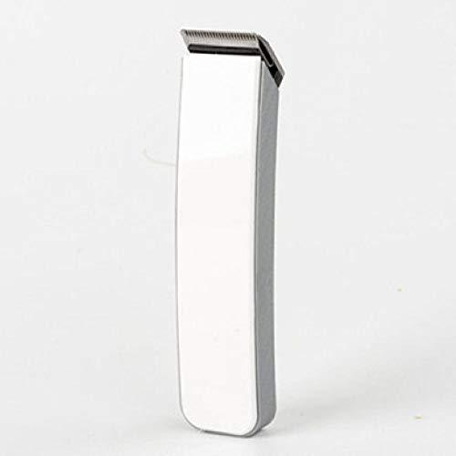 Profi Haarschneider Wiederaufladbare Elektrorasierer für Männer elektrischer Haarschneider elektrischer Haarschneider wiederaufladbarer drahtloser Rasierer,Weiß
