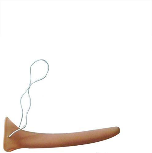 HKFV Silikon Langnasen Kostüm Elastisches Seil Falsch Lange Nase Hautfarbe Halloween Für Erwachsene Und Kinder 16 cm