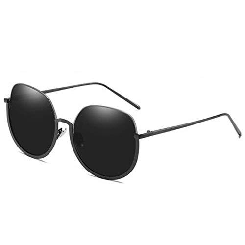 Yuany Sonnenbrille Große Schachtel Quadratisches rundes Gesicht Dünne Brille Weibliche Flut Mode Netz Rote Straße Schuss SonneBrille