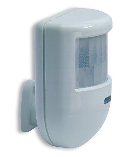 Detector movimiento doble tecnología infrarrojo microondas