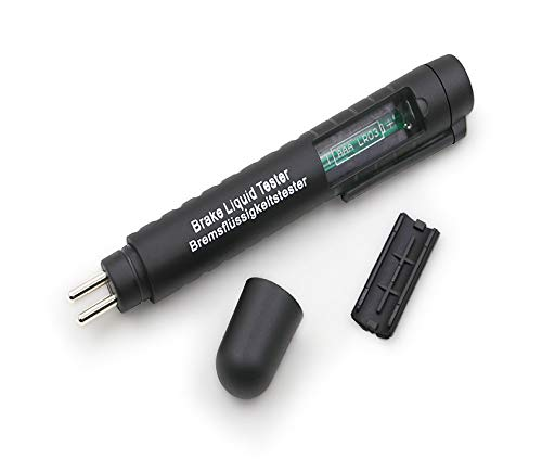 Myhonour Bremsflüssigkeitstester Brake Fluid Tester Prüfgerät Pen für Auto Fahrzeug Bremsflüssigkeiten DOT 3/4/5