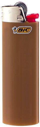 BIC Feuerzeug Reibrad Maxi, neutral, sortiert, 50er Packung, 1er Pack (1 x 50 Stück) - 6