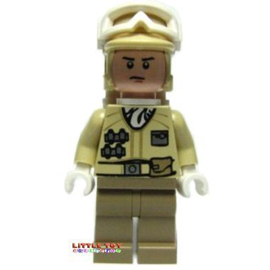 LEGO Star Wars: Das Imperium kehrt zurück - Minifigur Hoth Rebel Trooper (Design 2010) - Star 2010 Wars Legos