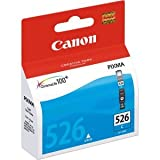 Canon CLI-526°C cyan Tintenpatrone–Cyan Tintenpatrone für Pixma IP4850/IP4950/,/MG5150/MG5250/MG5350/MG6150/MG6250/MG8150/MG8250/MX885Inkjet)