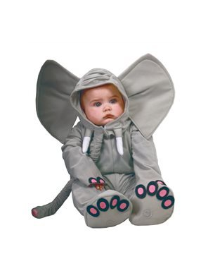 Guirca- disney costume elefante bebè, colore grigio, 12-24 mesi, 81089