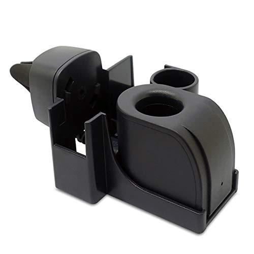 TLfyajJ for IQOS E-Cigarette - Caricabatterie Auto, Caricatore USB Universale, Portable Vehicle Vent Holder Nero