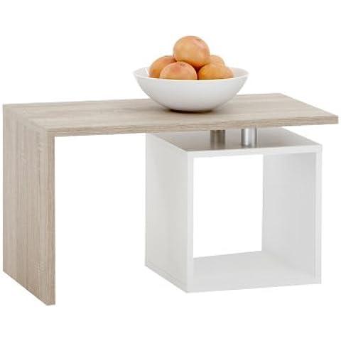 FMD 627-001_ei Klara - Mesa de café con compartimento abierto