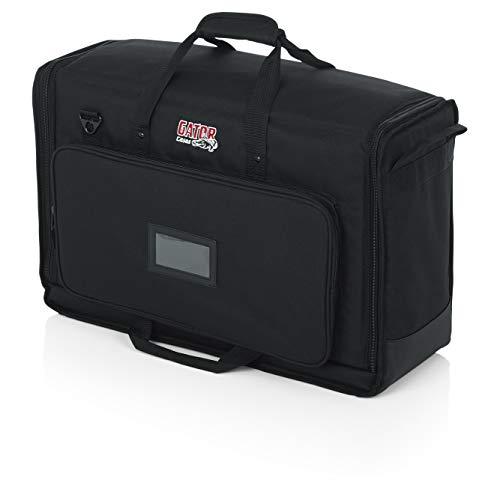 Gator g-lcd-tote-smx2Dual Carry Tasche gepolstert für den Transport (2) LCD-Monitore und TVs, Dual 48,3cm-61cm Bildschirme -