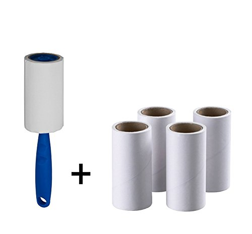 Ikea Lint Roller+4 Sticky replacement Heads Easily and quickly removes animal hairs, dust and fluff from garments, furniture and car seats