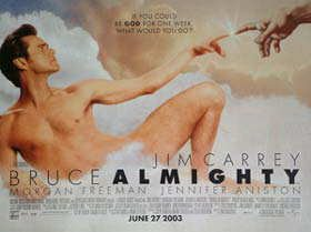 Click for larger image of Bruce Almighty Movie Poster