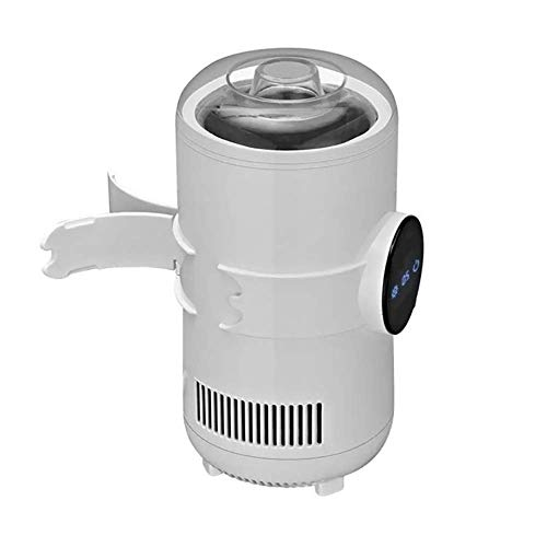LANBING Tragbare schnellkühlende wärmer tasse, auto 55 grad tasse, mini kühltasse | 2-in-1-Desktop-Kühler-Wärmebecher,White