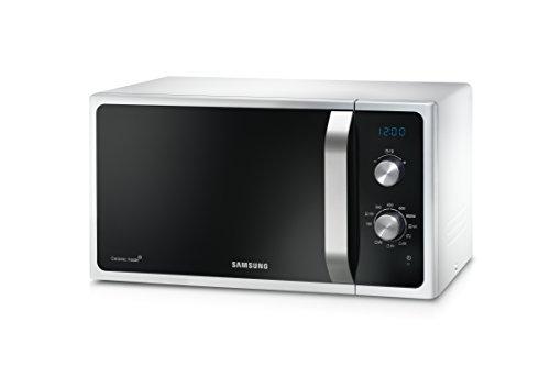 Samsung MG23F301ECW Forno a Microonde 800 W, Grill 1100 W, Capacità 23 L, Colore Bianco