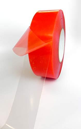 Refurbished Handys (Klebeband für Handys, 33 m, hitzebeständig, Acryl, doppelseitig, transparent, Ersatzband für Handy-Reparatur, 6,35 cm x 60 m, 1 Rolle)