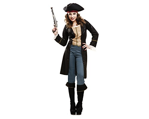My Other Me - Disfraz de pirata fashion, para mujer, talla M-L (Viving Costumes MOM02311)