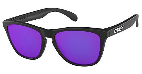 Oakley Frogskins OO9013 Matte Black / Violet Iridium