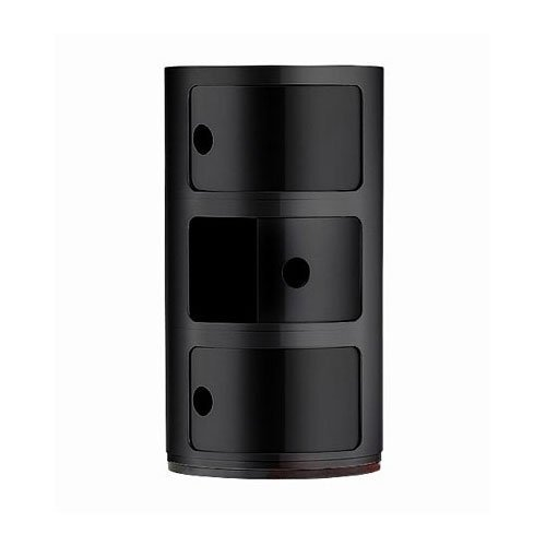 Kartell 496709 Container Componibili Black by Kartell