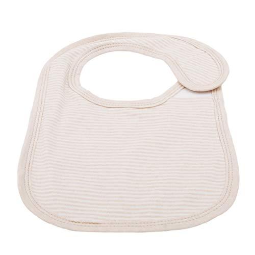 Idiytip Infant Bib Wasserdichte Unisex Baby Bandana Sabbern Schürze Lätzchen für Infant Toddler Einfarbig Nadelstreifen Baby Infant Toddler Bib