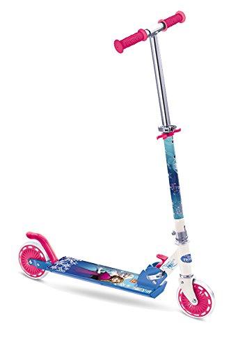 Mondo 28221 - Frozen ABEC 5 Alu-Scooter, Reifen-Durchmesser: 120 mm