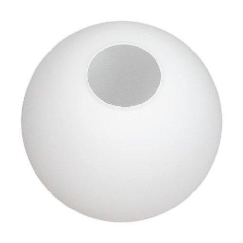 Ersatz Glas Hängeleuchte (Murano Qualität) Kugel Öffnung 15 cm Durchmesser 40 cm (nicht für Griffrand - 3 Schrauben - geeignet) - Murano Glas Hängeleuchte