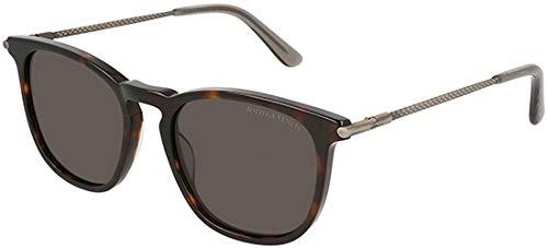 Bottega Veneta Sonnenbrillen BV0168S Havana/Grey Unisex Brillen für Erwachsene