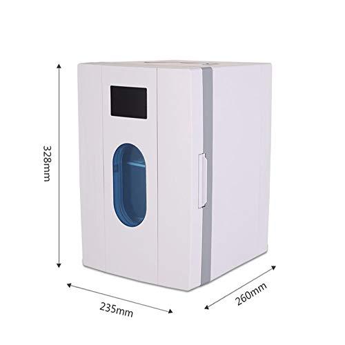 31WlRgHOP2L - JCDZSW Mini refrigerador 10L Caja de calefacción y refrigeración electrónica de Doble propósito para automóvil Familiar, refrigerador para la Piel, Alimentos, medicamentos, hogar y Viajes