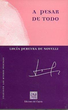 A PESAR DE TODO. Cuentos. 1ª edición.