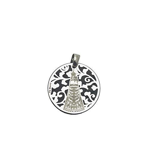 Medalla Virgen de Loreto en Plata de Ley