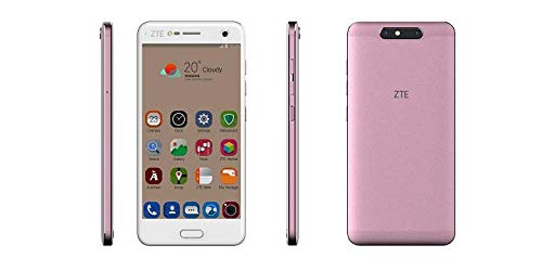 ZTE Blade V8 Lite Smartphone, 12,7 cm (5 Zoll) (4 G, Octa-Core 1,5 GHz, 2 GB RAM, 16 GB interner Speicher, Bluetooth, WiFi, Android) Roségold