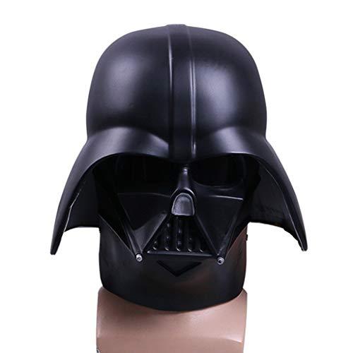 SDKHIN Das Imperium schlägt zurück Darth Vader Helm Dark Lord Head Helden und Schurken Star Wars Party Masks,Black-OneSize