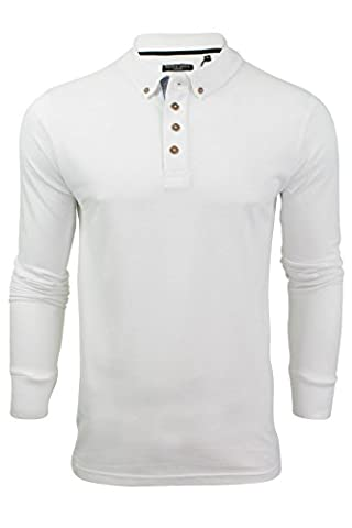 Brave Soul MLT-69LINCOLN Polo Top White - Large