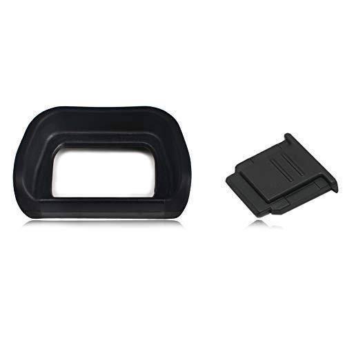VKO Kamera Hot Shoe Cover, Kamera Okular Augenmuschel Sucher für Sony Alpha A6300A6000Nex-6ersetzt Sony Fa-shc1m fda-ep10 Hot Shoe Cover Cap