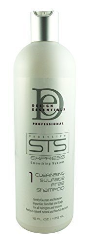 Design Essentials Strengthening Therapy System Sulfate-free Shampoo 16 Oz by Design Essentials