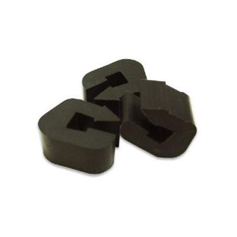 Cobb Grill 3 Abstandshalter Premier Schwarz 2 X 3 X 2 Cm 107