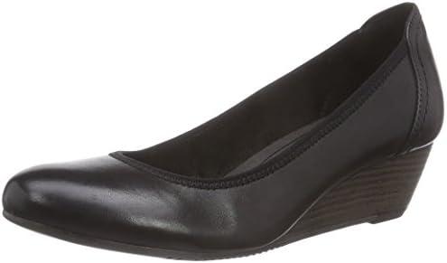Tamaris 22320 - Zapatos de Tacón Cerrados de Cuero Mujer