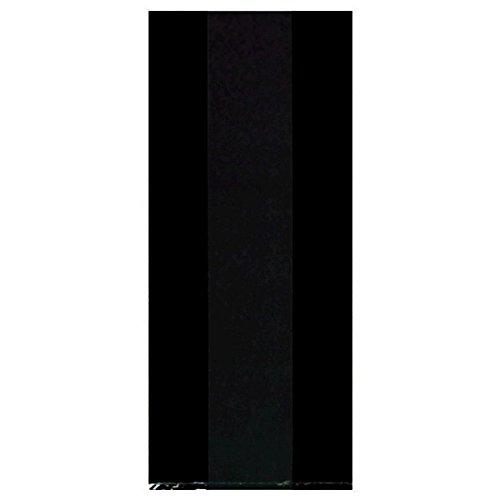 amscan 379500.1 Party Bags Taschen, schwarz, 9 1/2
